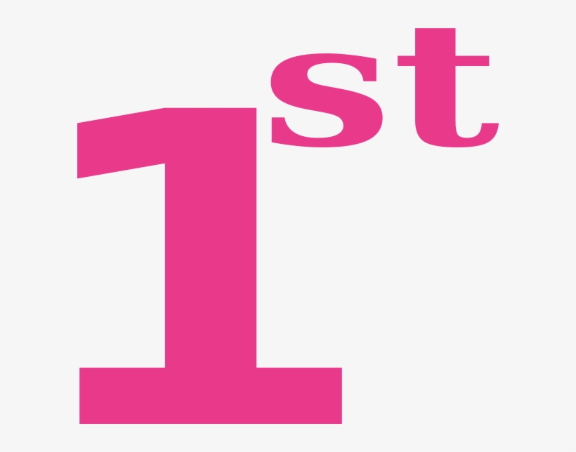 Clipart 1st svg 1st Clipart - Number One 1st Clipart - Free Transparent PNG Download ... svg