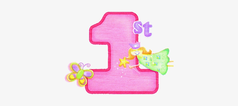 Clipart 1st image free download Clip Transparent 1st Birthday Clipart - 1st Happy Birthday Png PNG ... image free download