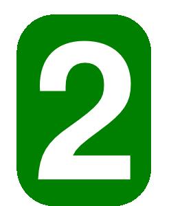 Number clip art bay. Clipart 2