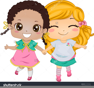 Clipart 2 friends clip transparent library Two Friends Hugging Clipart | Free Images at Clker.com - vector clip ... clip transparent library