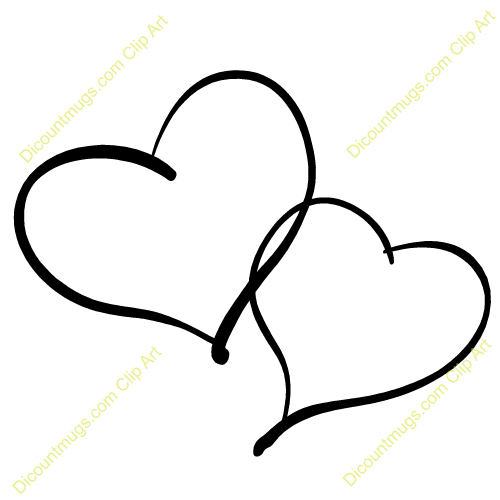 Two kid clip art. Clipart 2 hearts