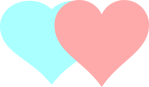 Clipart 2 hearts transparent stock 2 heart clipart - ClipartFest transparent stock