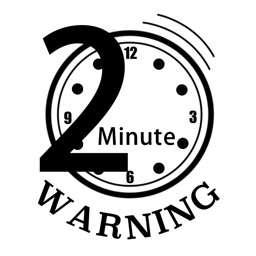 Clipart 2 minute clipart black and white library 2 Minute Warning by Robert Fitzgerald clipart black and white library