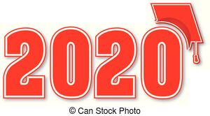 Clipart 2020 banner black and white download Class of 2020 Clipart and Stock Illustrations. 50 Class of 2020 ... banner black and white download