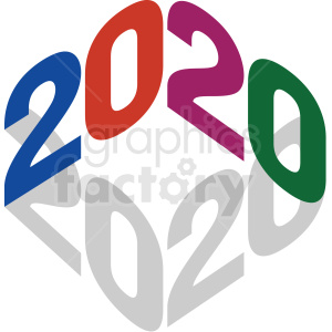 Clipart 2020 vector transparent library 2020 clipart . Royalty-free clipart # 410041 vector transparent library