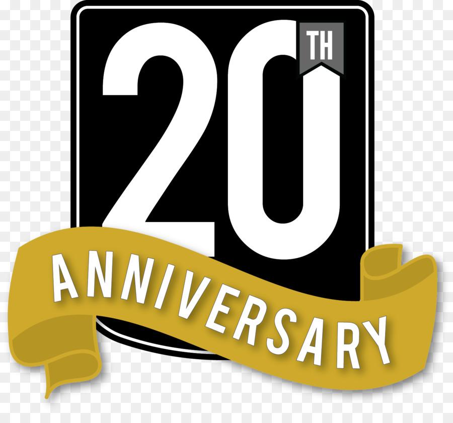 Clipart 20th anniversary jpg free stock Yellow Background clipart - Anniversary, Text, Yellow, transparent ... jpg free stock