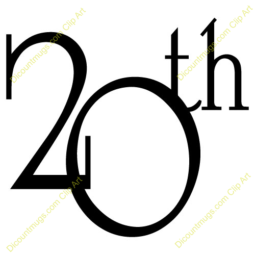 Clipart 20th anniversary svg freeuse stock 20th anniversary clipart 6 » Clipart Portal svg freeuse stock