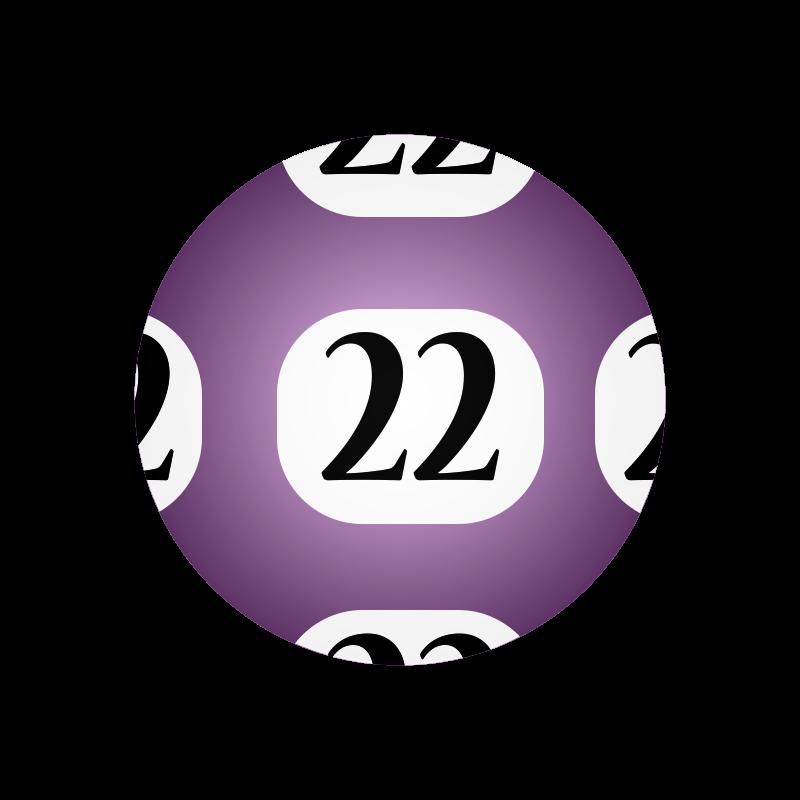 Lotto balls clipart