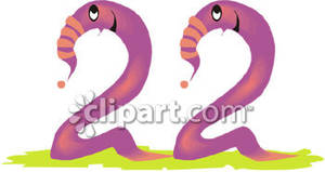 Free clipart images of numbers. Cartoon number royalty picture