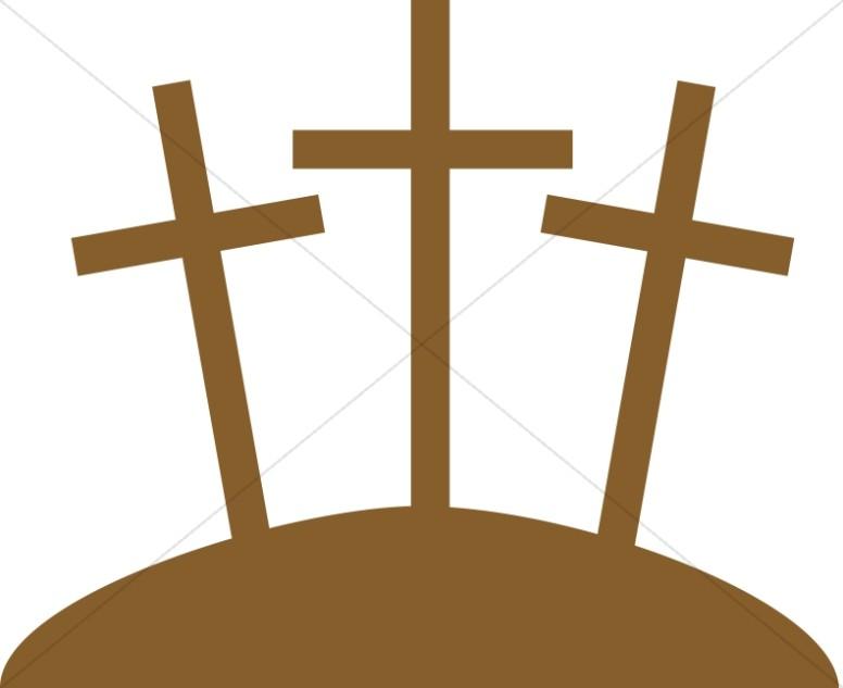 Three crosses clipart clip art royalty free Three Crosses Graphic | Cross Clipart clip art royalty free