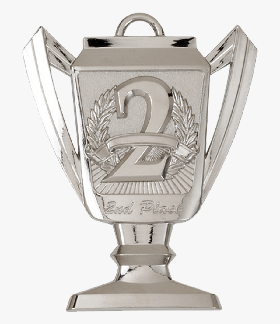 Clipart 3d awards 1st 2nd 3rd place image transparent stock Image Tm Trophy Nd Place Png Fanon Ⓒ - 2nd Place Silver Trophy ... image transparent stock