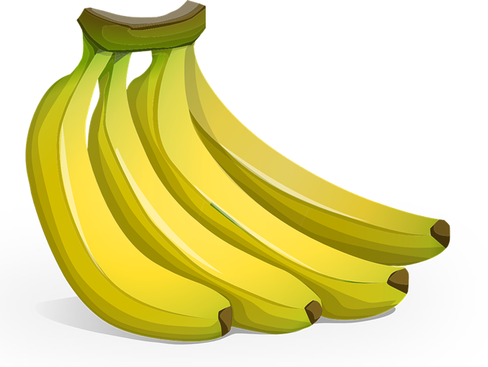 Clipart 4 graphic free stock Banana clipart 4 - Clipartix graphic free stock