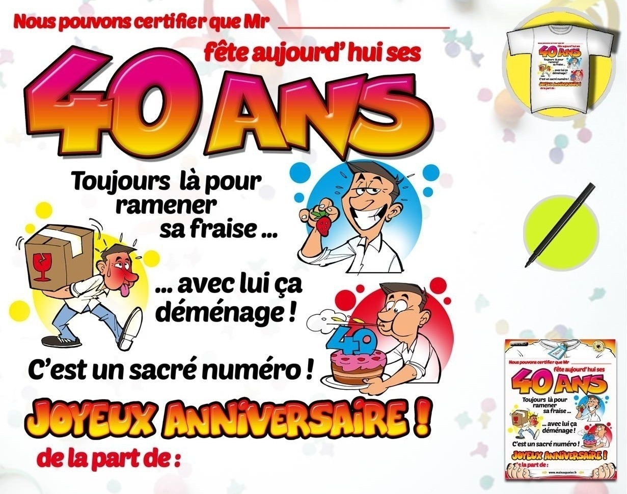 Clipart 40 ans anniversaire picture freeuse stock Clipart gratuit anniversaire 40 ans 4 » Clipart Portal picture freeuse stock