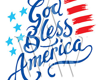 Clipart 4th of july god bless america image royalty free God Bless America Clipart | Free download best God Bless America ... image royalty free
