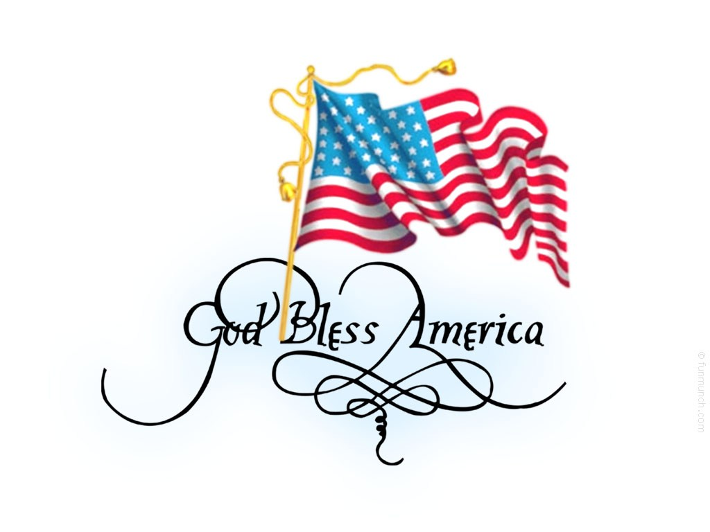 Clipart 4th of july god bless america clipart transparent God Bless America | Houston Catechetical Connection clipart transparent