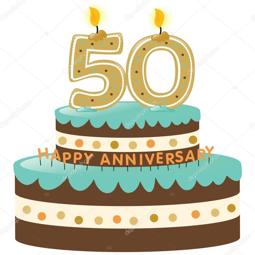 Clipart 50 geburtstag einladung clip art freeuse library 50. Jahrestag-Kuchen und Kerzen — Stockvektor © wetnose #3090059 clip art freeuse library