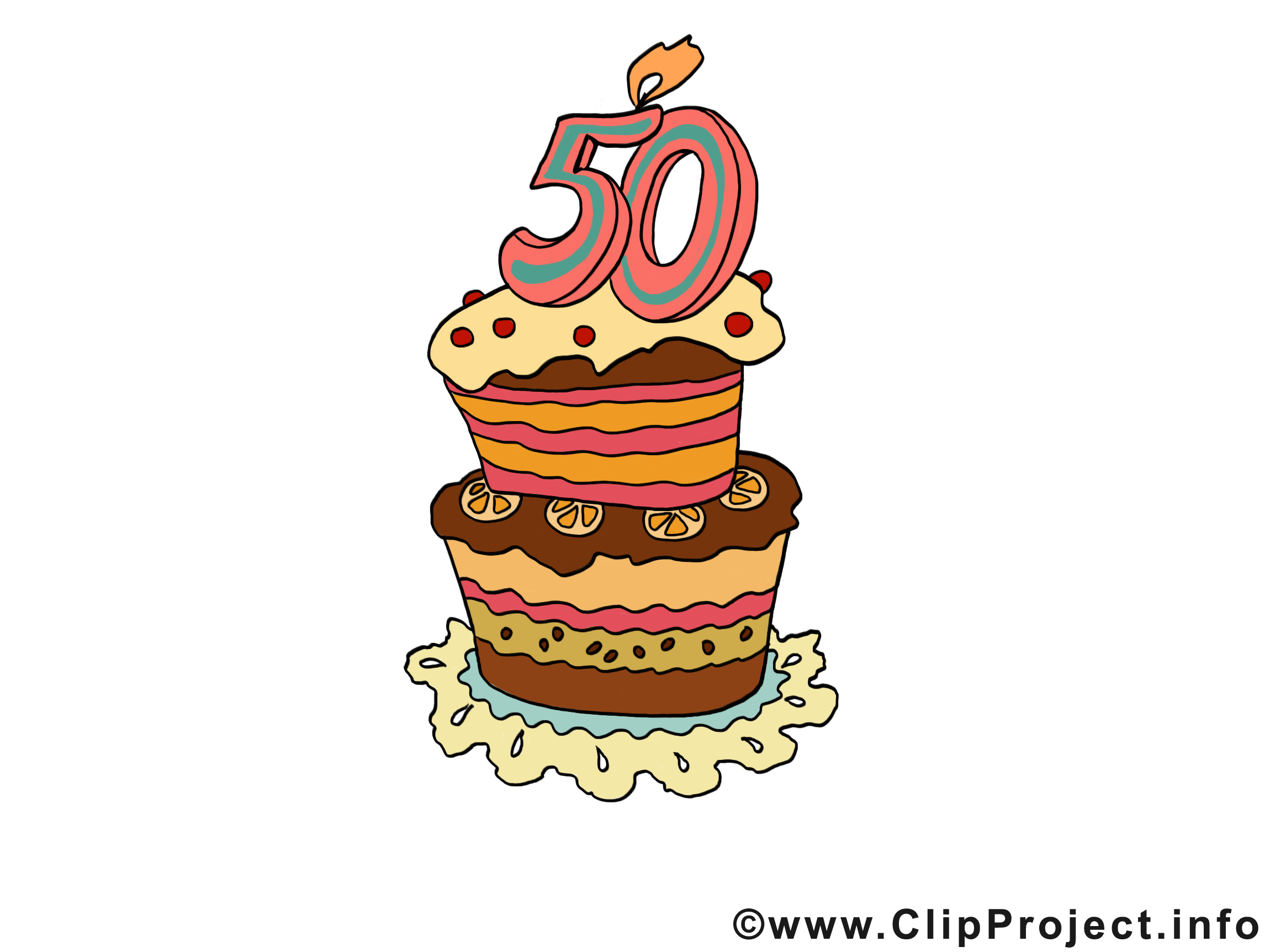 Clipart 50 geburtstag einladung banner black and white library Geburtstag Bilder, Cliparts, Cartoons, Grafiken, Illustrationen ... banner black and white library