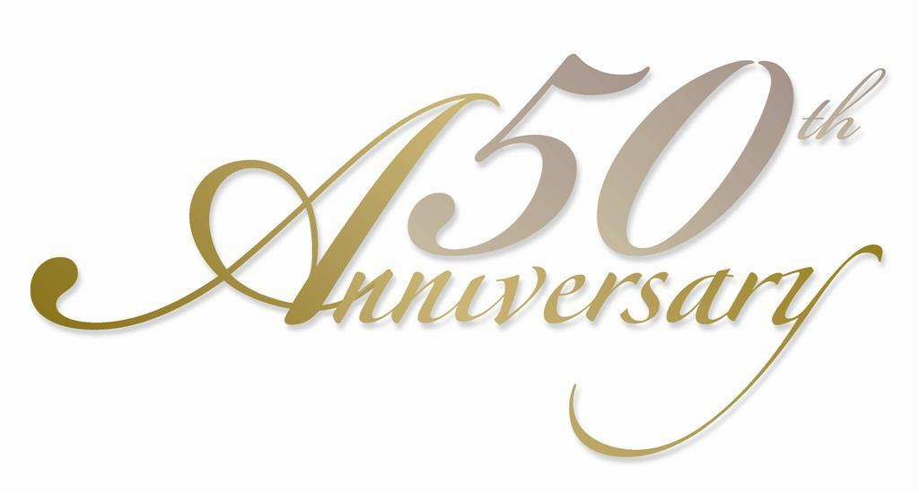 Clipart 50th wedding anniversary png transparent 50th anniversary clipart free 3 » Clipart Portal png transparent