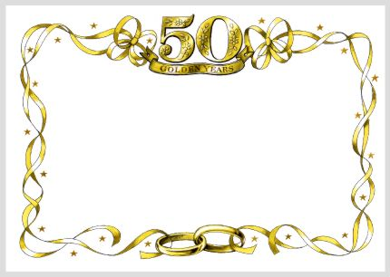 Clipart 50th anniversary image transparent stock Free Golden Wedding Cliparts, Download Free Clip Art, Free Clip Art ... image transparent stock
