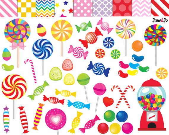 Printable graphics clipart freeuse library 52 Candy clipart,candy clip art,printable,lollipop clipart,rainbow ... freeuse library