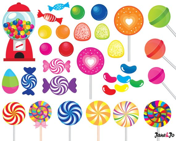 Printable graphics clipart clip royalty free 52 Candy clipart,candy clip art,printable,lollipop clipart,rainbow ... clip royalty free