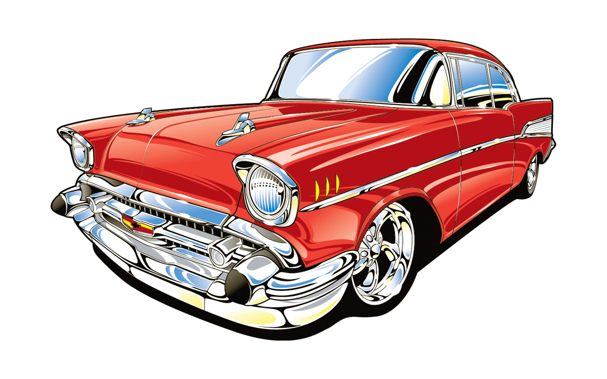 Clipart 55 chevy clip art transparent stock 55 Chevy Bel Air free clipart | Clipart Finders clip art transparent stock