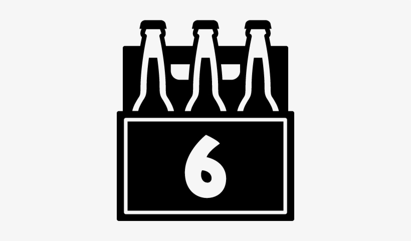 Clipart 6 pack beer picture download Available Year Round In 22 Oz Bomber, 6 Pack And 12 - Beer 6 Pack ... picture download