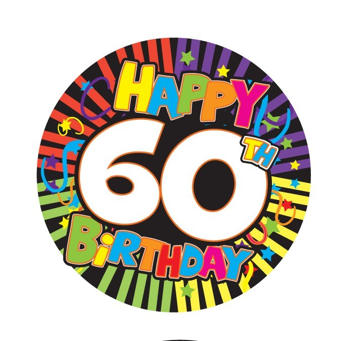 Clipart 60 birthday image library stock Happy 60th birthday clipart 5 » Clipart Portal image library stock