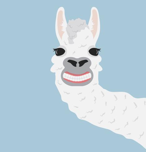 Clipart 622548 clip transparent download Happy llama smile Vector Illustration - Download Free Vector Art ... clip transparent download