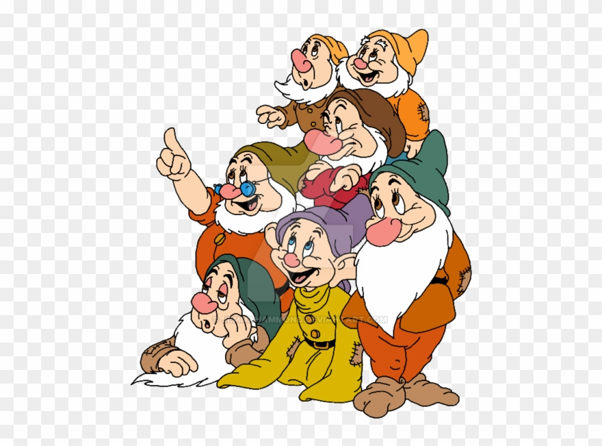 Seven dwarfs clipart picture free stock Seven Dwarfs By Jemmahammond - 7 Dwarfs Clip Art - Png Download ... picture free stock