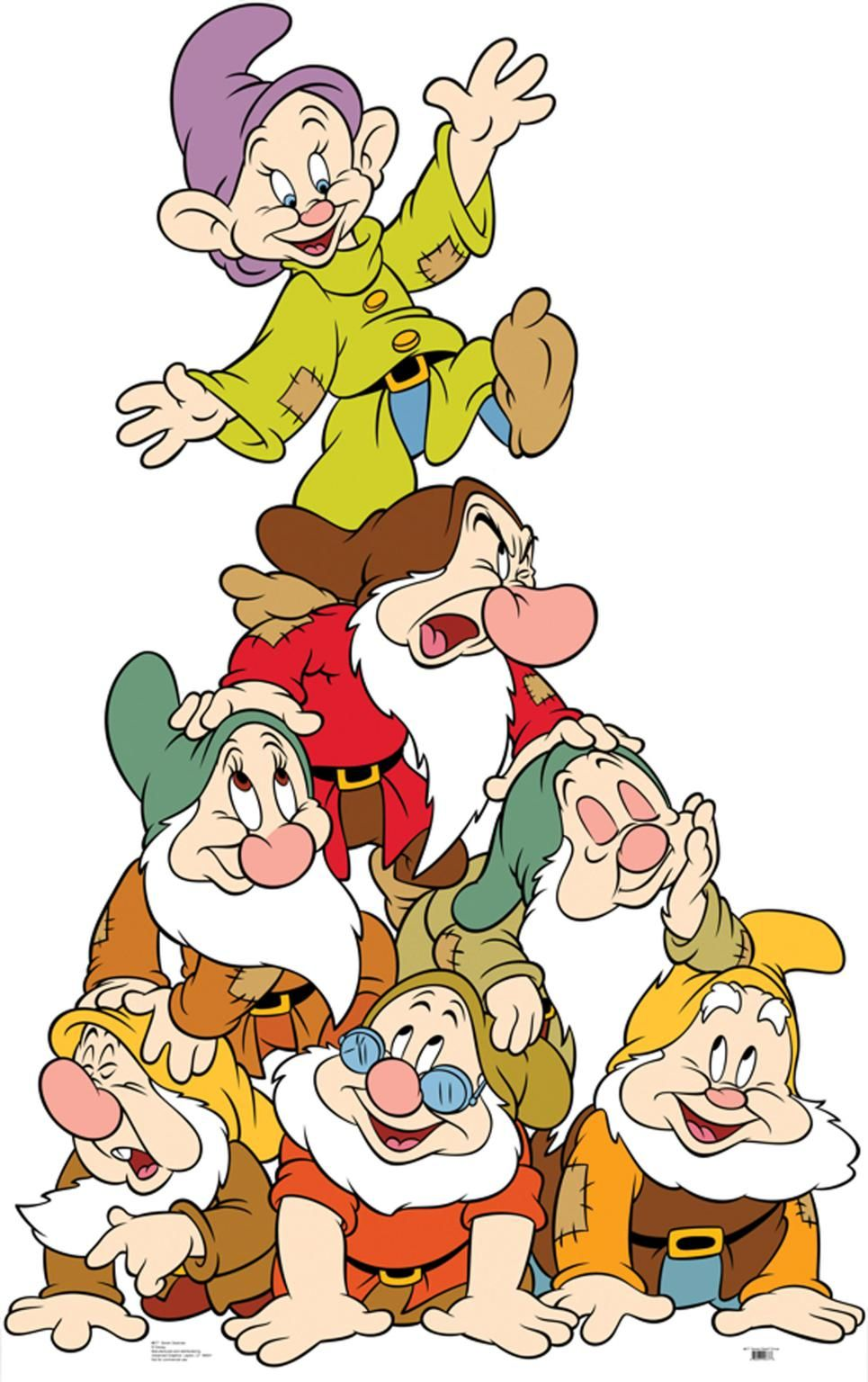 Clipart 7 dwarfs library snow white and the 7 dwarfs | Clip Art-Disney 4 Other Characters ... library