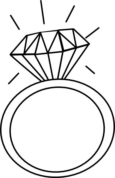 Clipart of wedding ring black and white banner free library Linked Wedding Rings Clipart | Free download best Linked Wedding ... banner free library