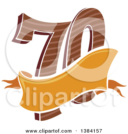 Clipart 70th birthday svg library library Royalty-Free (RF) 70th Birthday Clipart, Illustrations, Vector ... svg library library