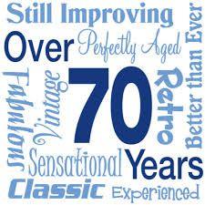 Clipart 70th birthday png free stock 70th birthday clip art | ... birthday invitation balloons border ... png free stock