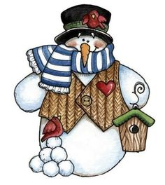 Clipart 7yhd svg black and white library 55 Best Snowman Collector images in 2019 | Snowman, Vintage ... svg black and white library