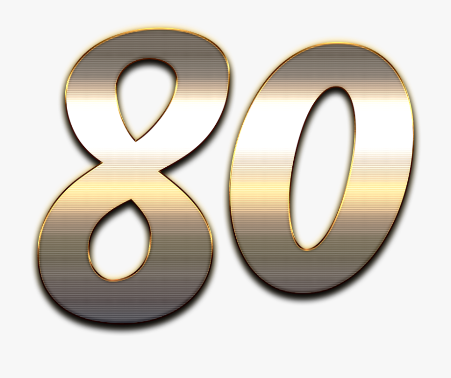 Clipart 80 picture freeuse library 80 Number Wooden Png - Number 80 Png, Cliparts & Cartoons - Jing.fm picture freeuse library