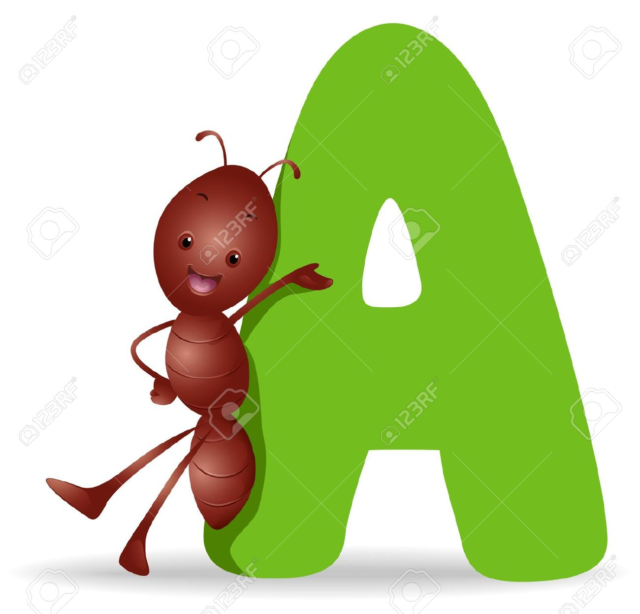 Clipart a black and white library Ant Letter Clipart black and white library