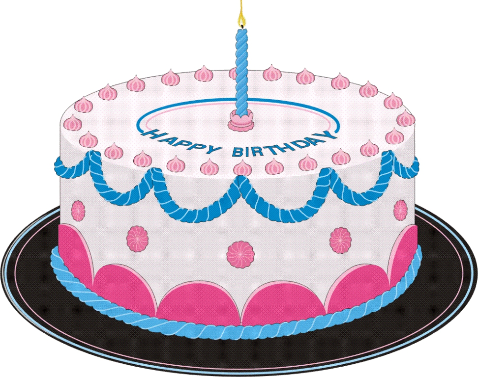 Kid pictures of images. Clipart a big birthday cake animated