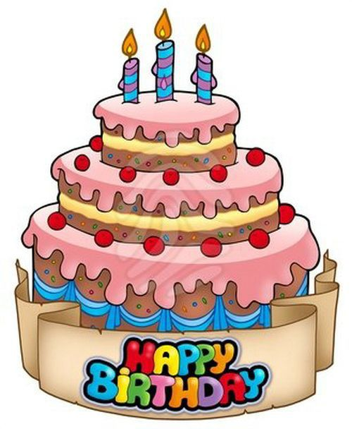 Clip art happy bro. Clipart a big birthday cake animated