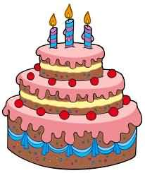 Clipart a big birthday cake animated. Pictures best free balloon