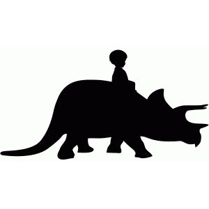 Clipart a boy riding on a dinosaur vector royalty free download Dino ride | svg - animals - dinosaur | Dinosaur silhouette, Dinosaur ... vector royalty free download