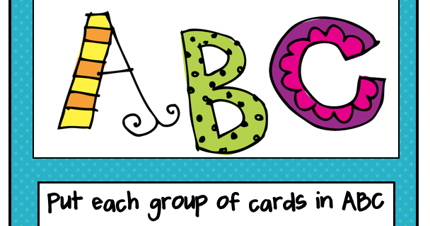 Clipart abc order. Pitner s potpourri and