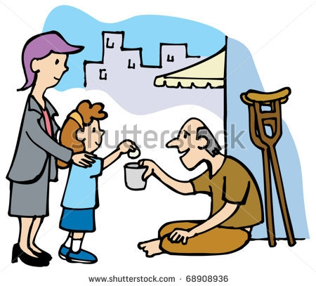 Clipart about being needy vector stock Helping the poor and needy clipart 6 » Clipart Station vector stock