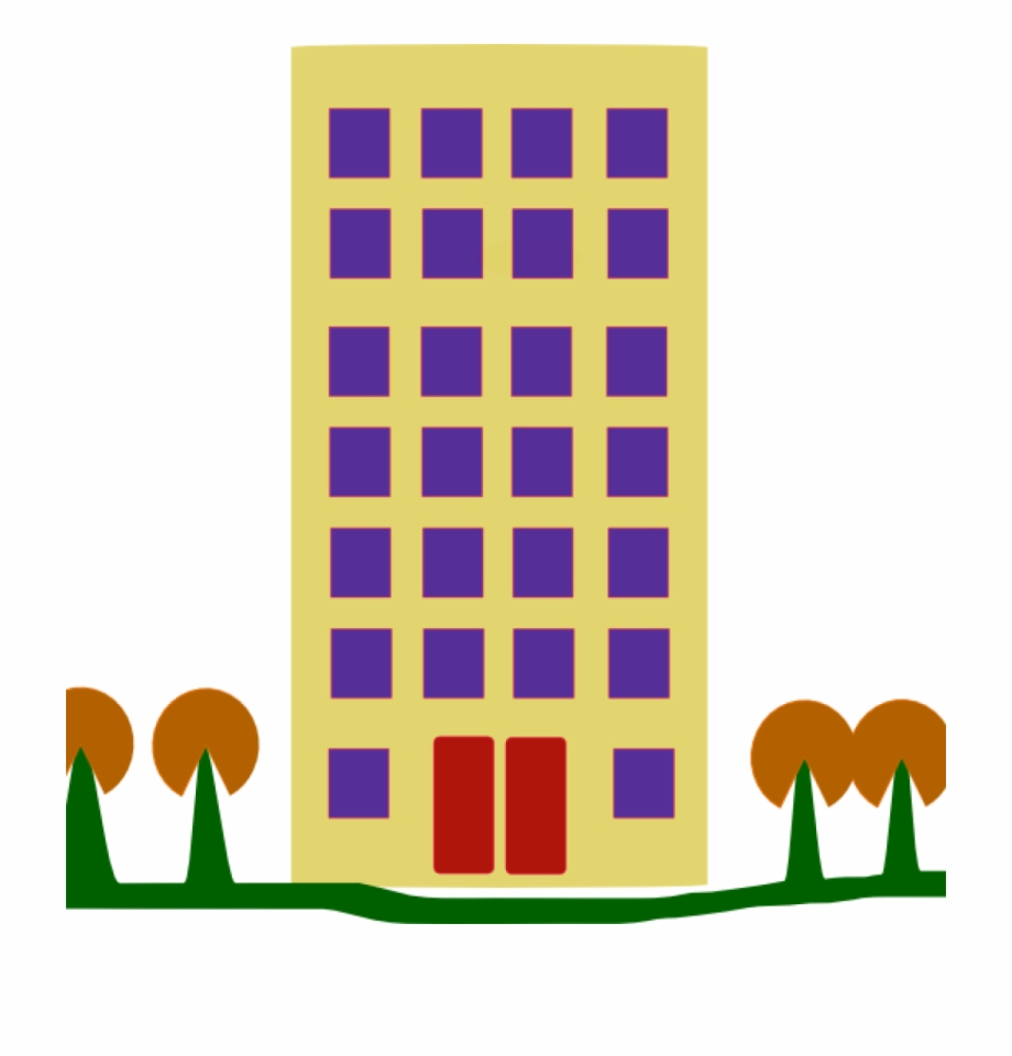 Apartment block clipart jpg black and white library Clipart Library Download Clipart Building Blocks - Apartment ... jpg black and white library