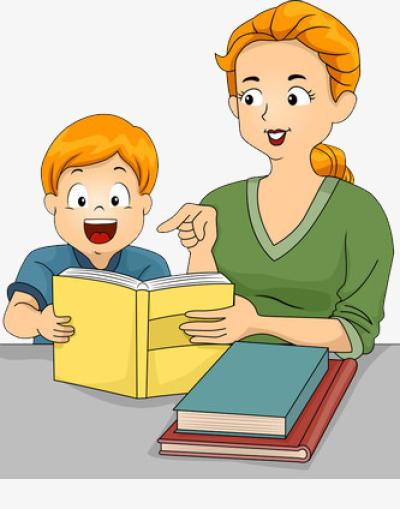 Clipart about child teaching jpg free Download Free png Mother Teaching Children Literacy, Children ... jpg free
