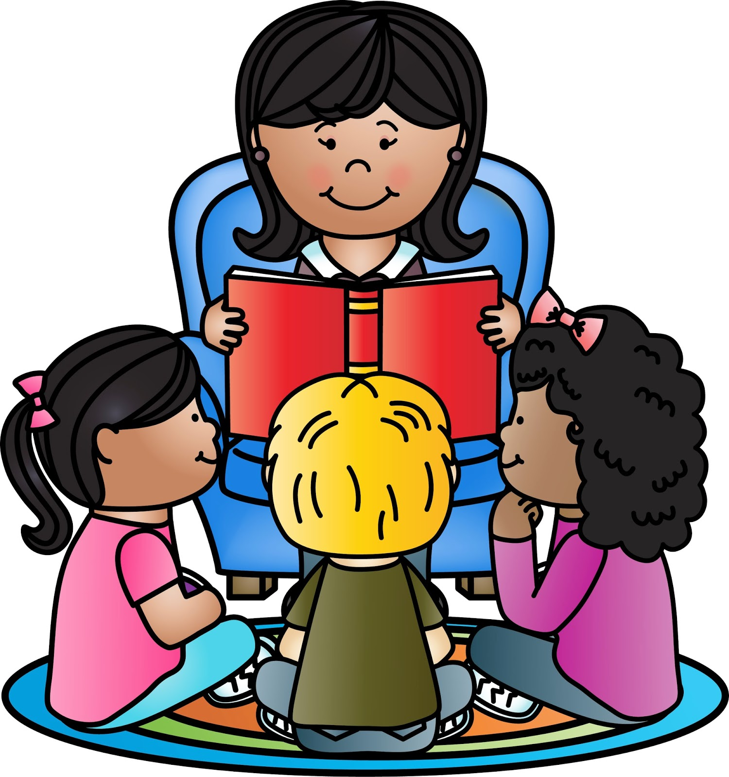 Clipart of children listening to a story picture library stock Listening To Teacher Clipart | Free download best Listening To ... picture library stock