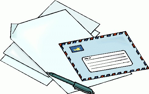 Clipart acceptance letter svg library Free Letter Clipart Pictures - Clipartix svg library