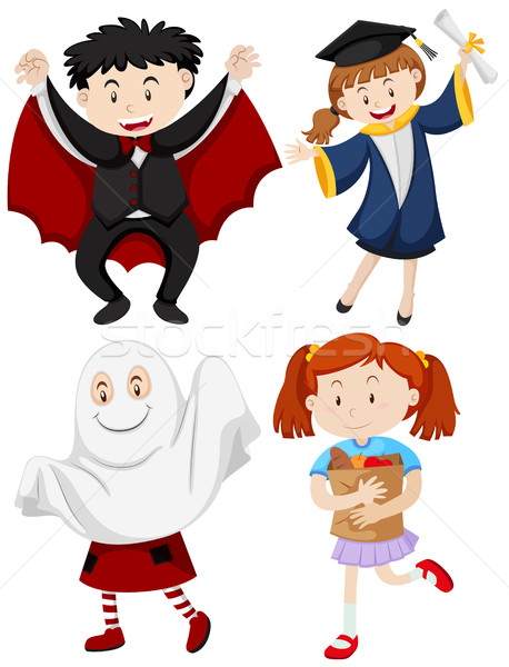 Clipart acciones jpg black and white stock Download personas realizando diferentes acciones clipart Royalty ... jpg black and white stock