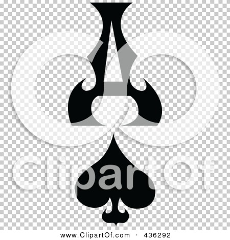 Clipart ace of spades banner freeuse download Royalty-Free (RF) Clipart Illustration of a Digital Collage Of The ... banner freeuse download