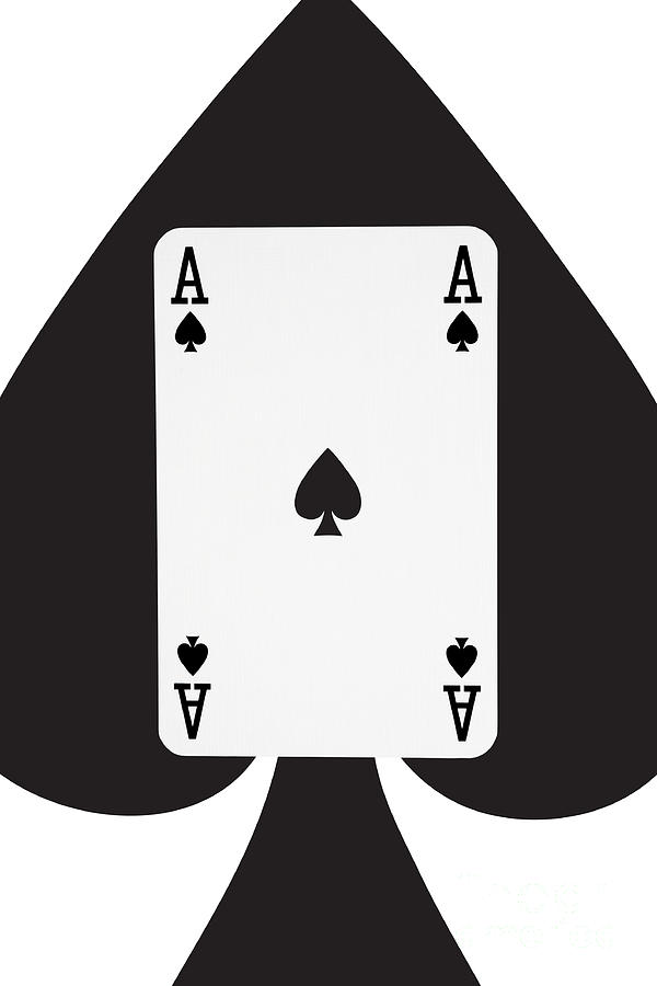 Clipart ace of spades graphic free Ace playing card clipart - ClipartFest graphic free